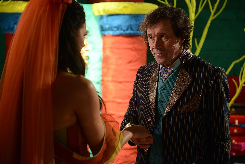 The evil Danforth seeks to make Sara Strangelove his bride.