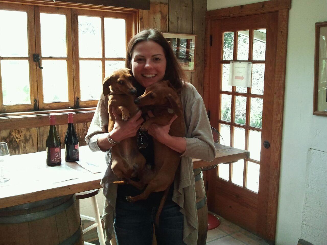 Alma Rosa Winery, CA (Bella & Daisy)