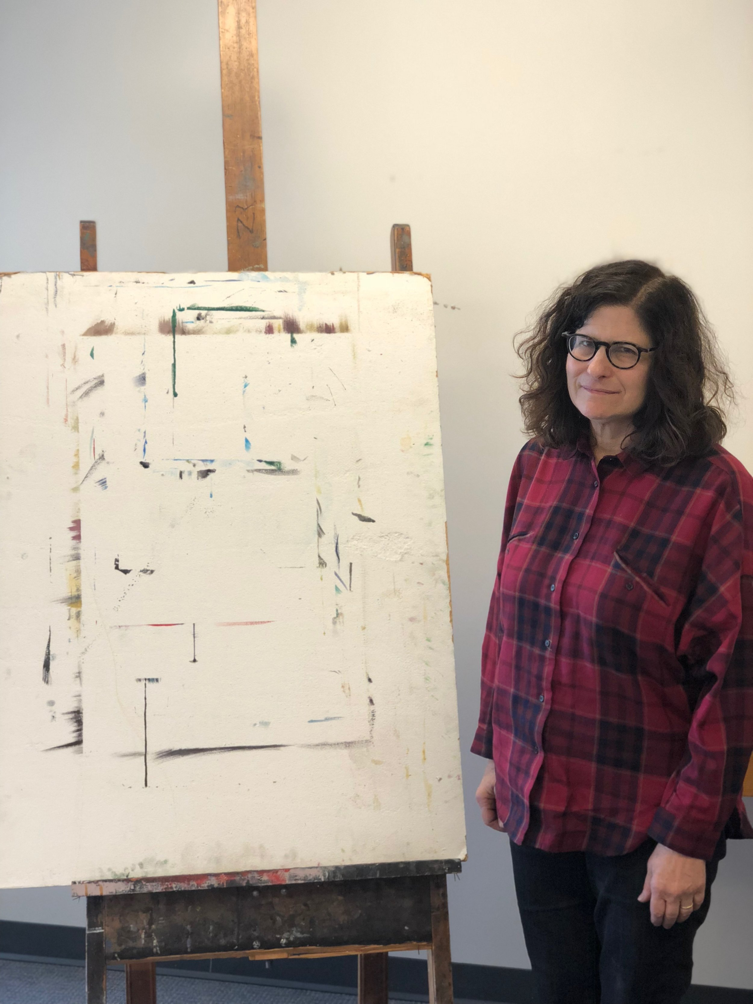 Charles Hobbs - Laura Newman is an abstract painter based in Brooklyn, NY. She has taught art at Vassar College for twelve years.