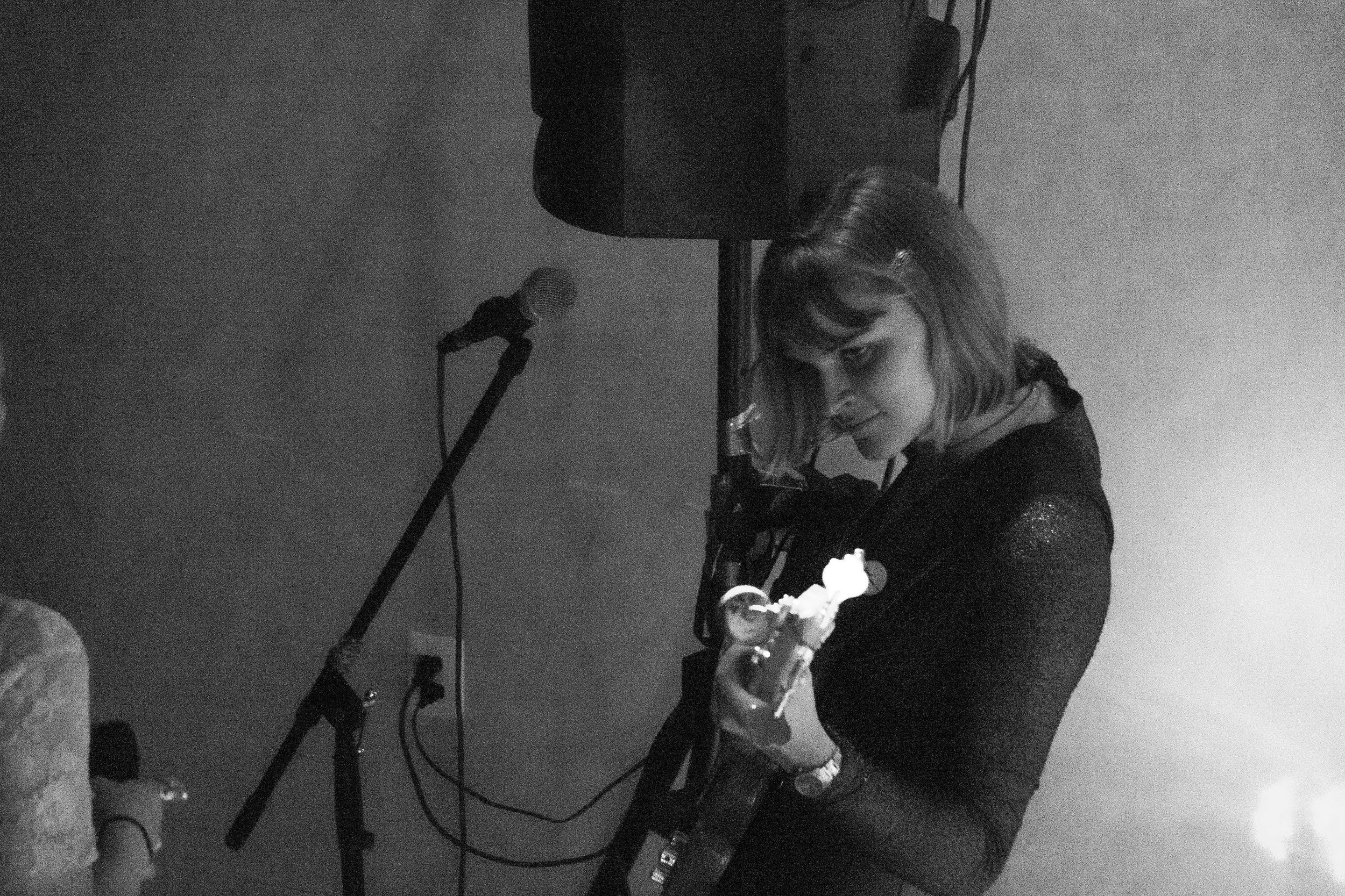 Bassist Lucy Horgan