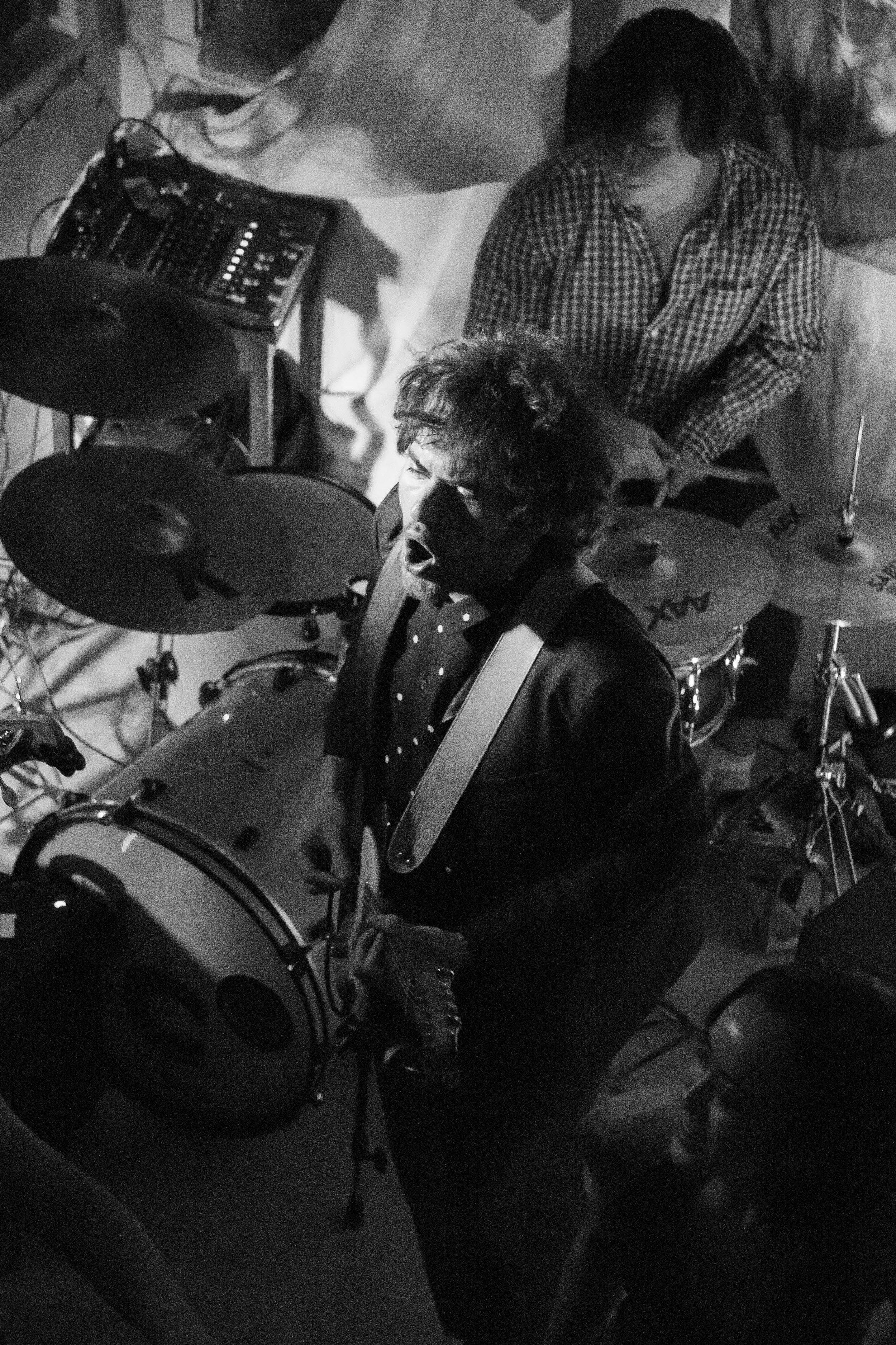 Guitarist Jackson Lewis and Drummer Ben Scharf