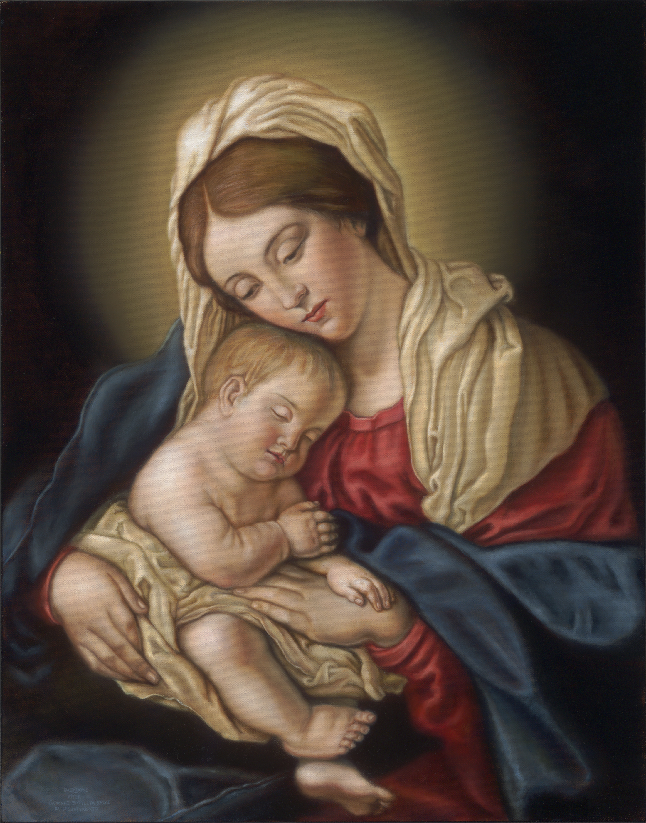 Madonna and Child Reproduction