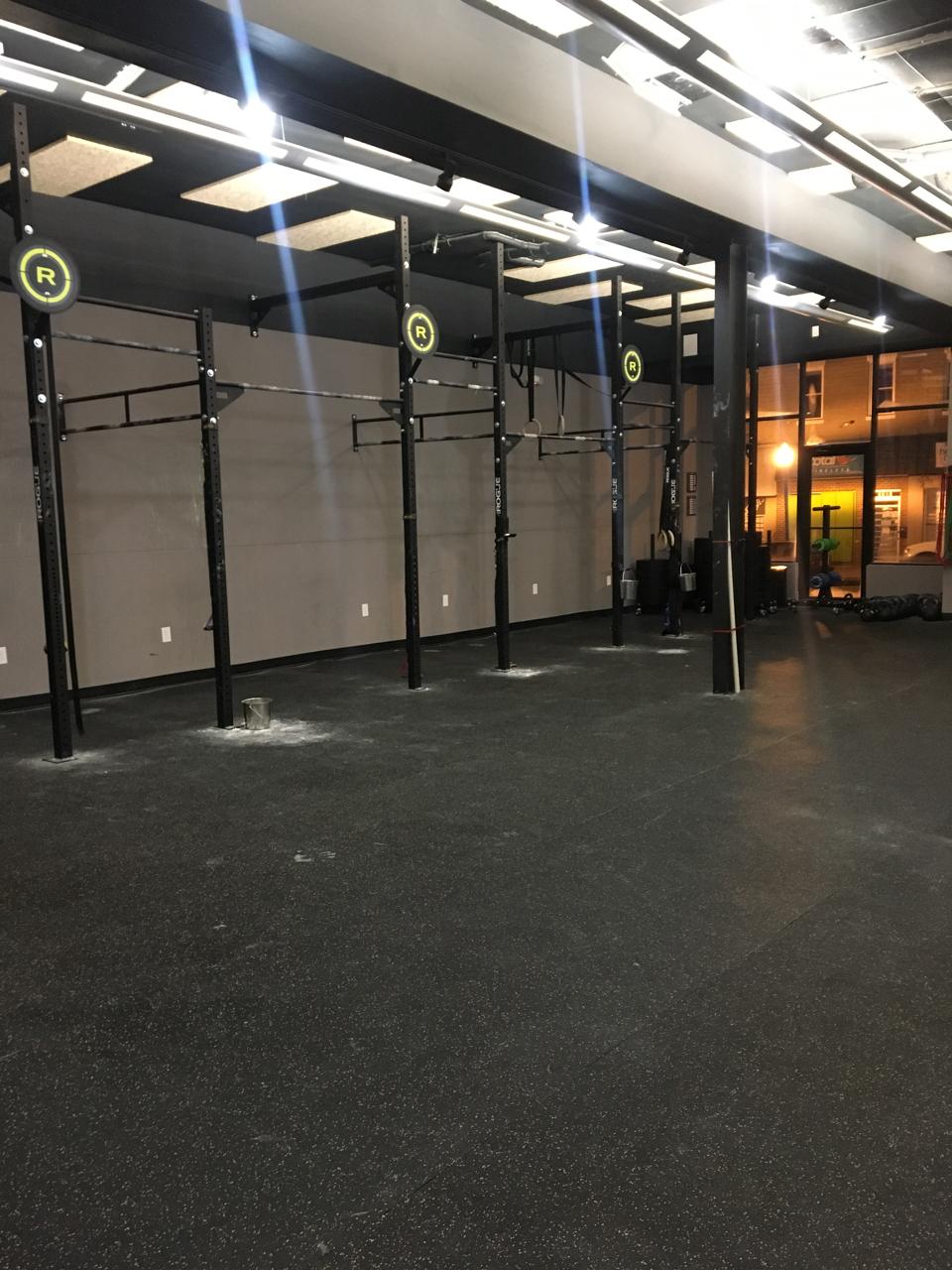 CrossFit room