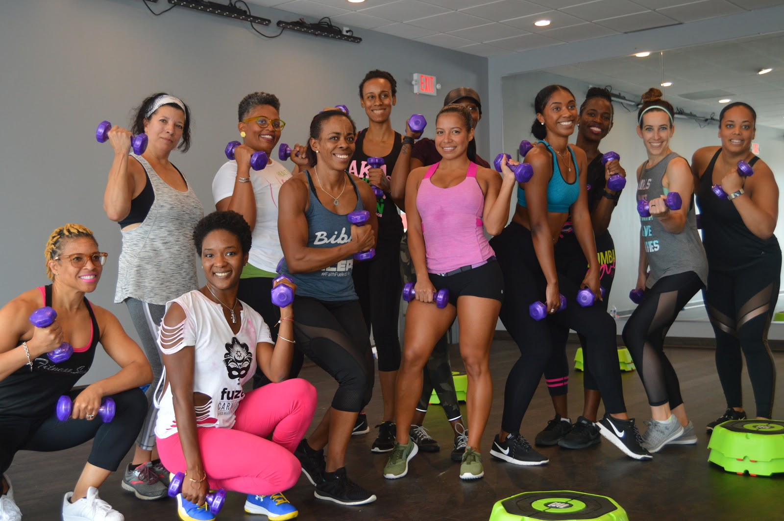 Pro Tip: Probably don't take this class after a 7 mile run. Speaking from experience. DO take this class if you want an amazing arms & booty workout.  [Photo via Flecks of Lex]