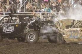 #99 Donavan Bolling - Hometown: Walla Walla, WAAge: 24Experience: 6 yearsPast Wins: Walla Walla County Fair 2013, Columbia County Fair 2016. Hermiston Super Oval Demo Derby 2015Sponsors: W4 construction, Hi-mark Custom Fab, Blue Mountain Creations