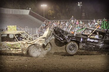 Walla Walla Fair and Frontier Days Demo Derby - Walla Walla, WAAugust 29, 2019Promoted by Walla Walla Fairgrounds and coordinated by Stan BlyTime Trials at 5:30 pmRacing at 6:30 pm