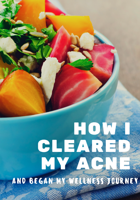 How I cleared my acne