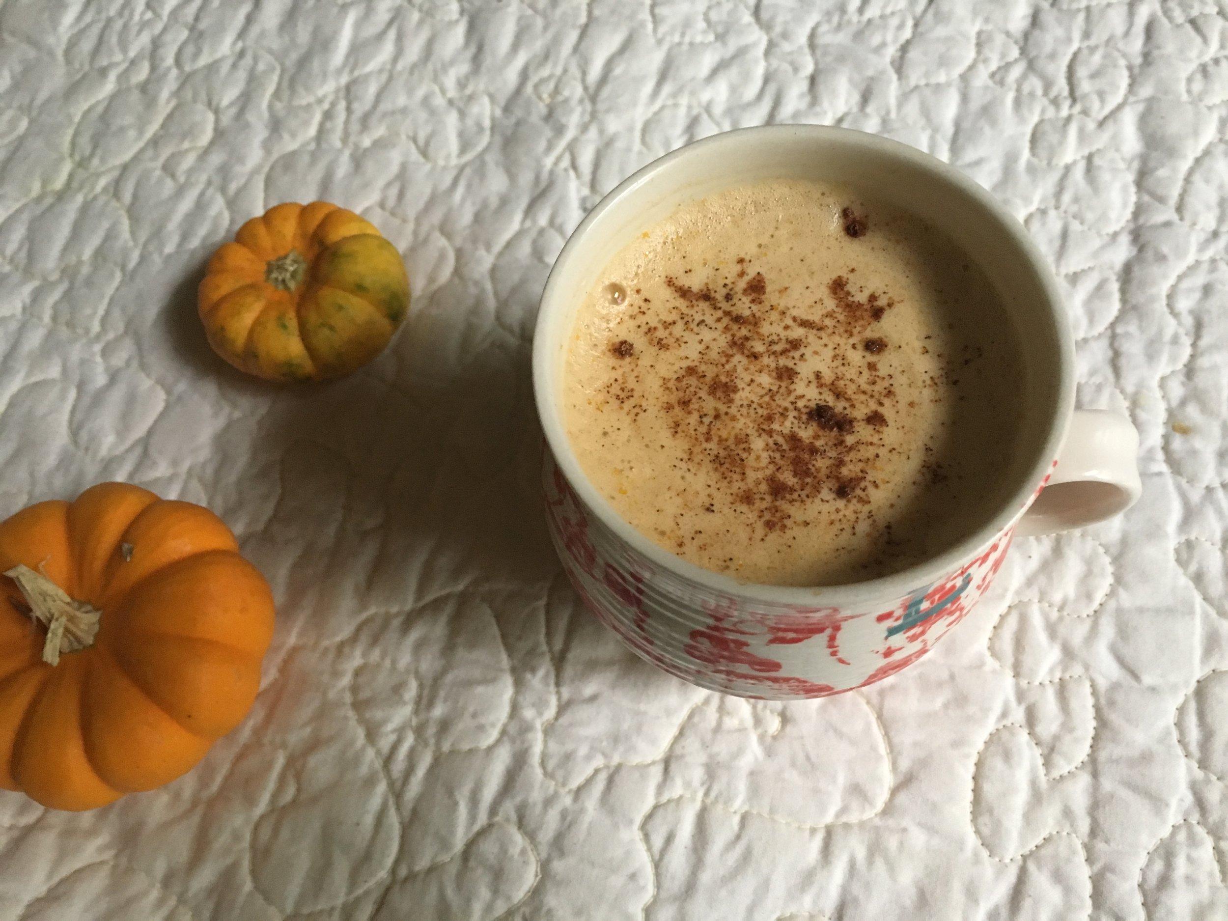 Poor Man's Pumpkin Latte