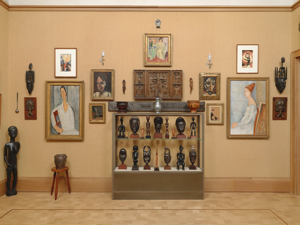 The Barnes Foundation, Room 22, South Wall.