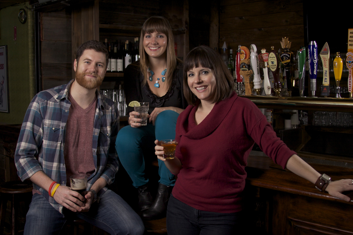 David Hudson, Lori Wolter Hudson and Beth Gardiner