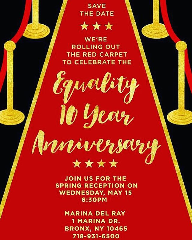 ‪🎂 1 week away —  from our Spring Reception Gala and GUESS WHAT?! It's my 10 year anniversary! We're celebrating 10 years of being open and 10 years for those of us who started since the beginning.⠀ ⠀⠀⠀⠀⠀⠀⠀⠀⠀⠀ 🙏🏾Totally grateful to put in the blood, sweat, and tears, to build something that helps so many people from my community! ‬⠀ ⠀⠀⠀⠀⠀⠀⠀⠀⠀ ⠀ 🎟 Want tickets? Message me and we'll get you one of the FEW remaining tickets. ⠀ ⠀⠀⠀⠀⠀⠀⠀⠀⠀⠀ ⠀⠀⠀⠀⠀⠀⠀⠀⠀⠀ {#CharterSchool} {#PublicEducation} {#Career} {#SocialImpact} {#CareerGoals} {#NYC} {#Bronx} {@EqualityCharterSchool} {#Education} {#Success} {#Goals} {#Nonprofit} {#NonprofitLeadership} {#Leadership}