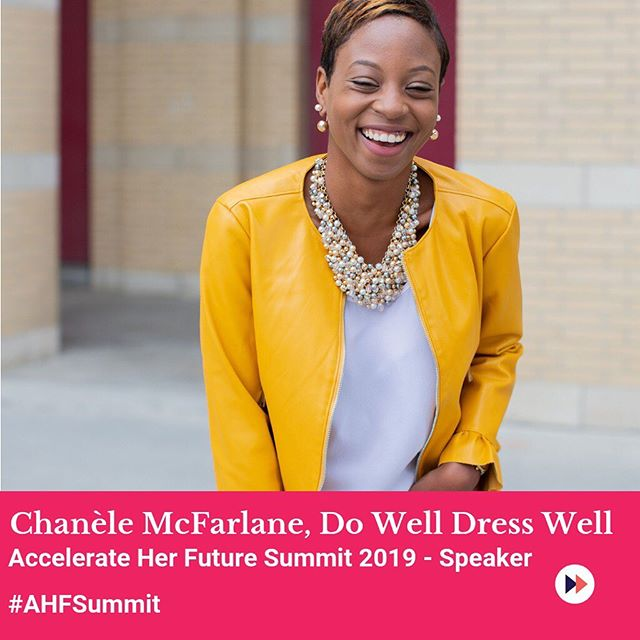 "Couldn't be more excited to be a part of the first @accelerateherfuture summit on Oct 26 as both a speaker and the Director of Programming.  This project is so near and dear to my heart - creating a safe space where self-identified WOC in college + uni (and recent grads!) can learn how to navigate the intersection of race, gender and work.  Because the thing is, what your teachers, career centres and textbooks won't tell you is that being a WOC in the workplace is super challenging.  And, if I had a resource like this when I was graduating, I would have felt much more confident.  I'm working on a talk that's probably my favourite one yet on the ""Twice as Good"" narrative (if you know, you know) and how to overcome the pressure to be perfect 24/7 to build a career + personal brand that doesn't drain you.  We'll also have incredible speakers like @thesmartwmn @karlynpercil and so much more.  If you or someone you know is a student or recent grad, apply by Sept 15 to attend! 🙌🏾 Link in bio."