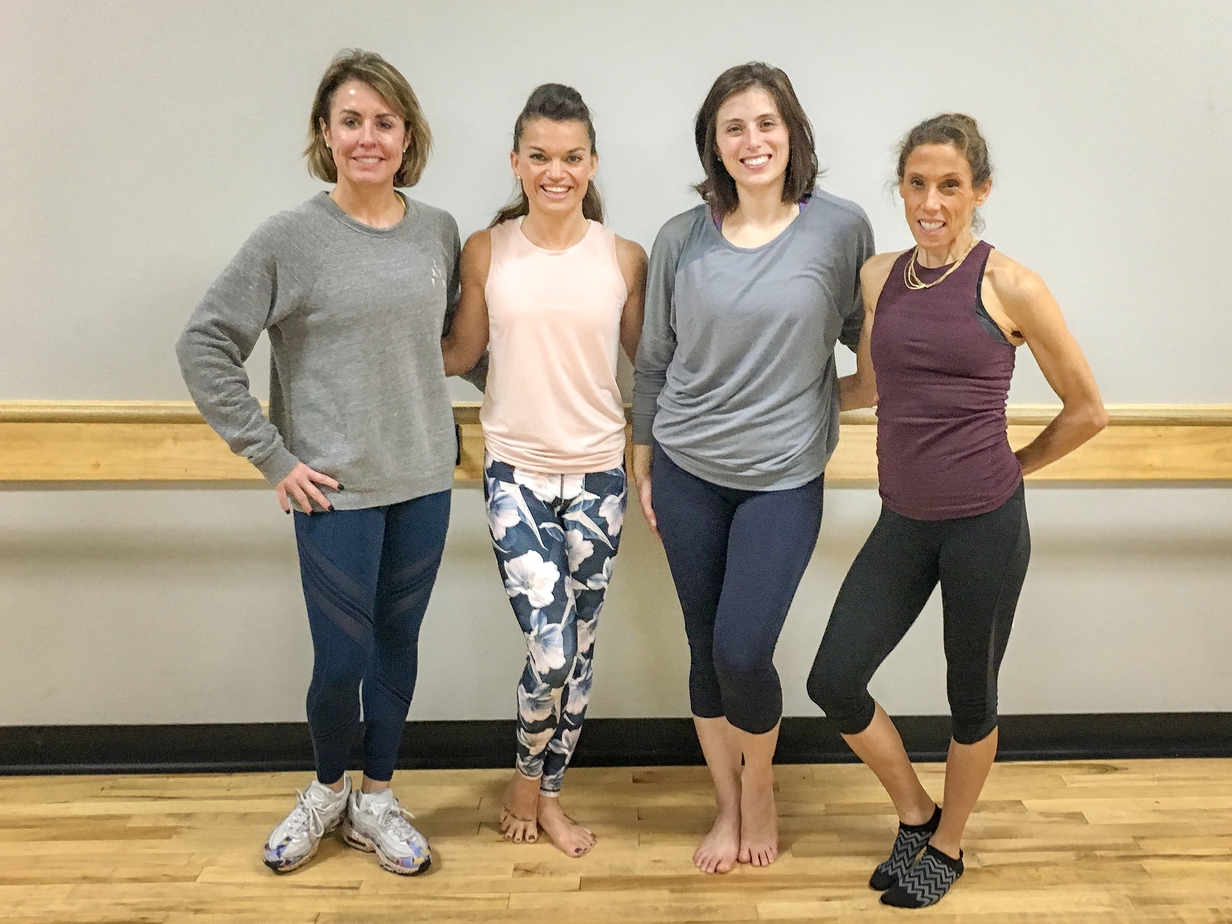 Barre Instructor Training at Pivotal Fitness Mt. Pleasant, SC