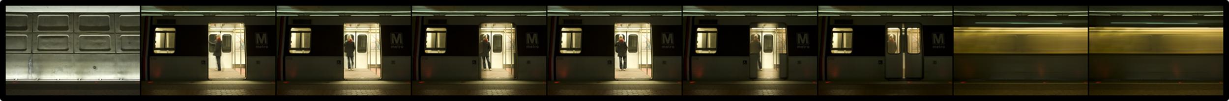 Streams Travel Strip, Washington DC Metro   3-1-2009