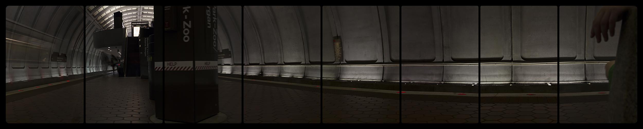 Metro, Rail Woodley Park-Zoo,6-15-2014,2756-2763