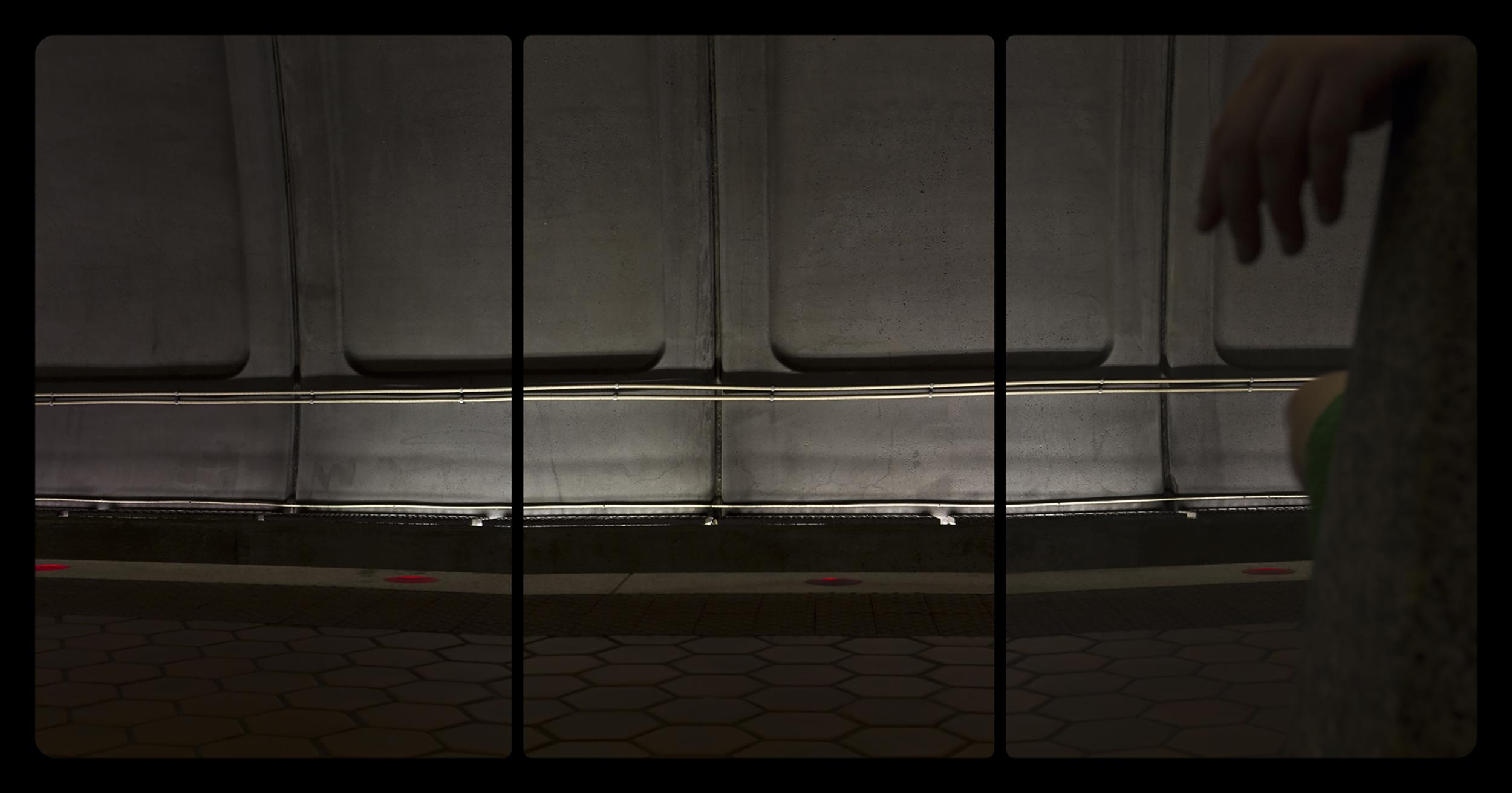 Metro Rail, Woodley Park-Zoo,6-15-2014-2761-2763