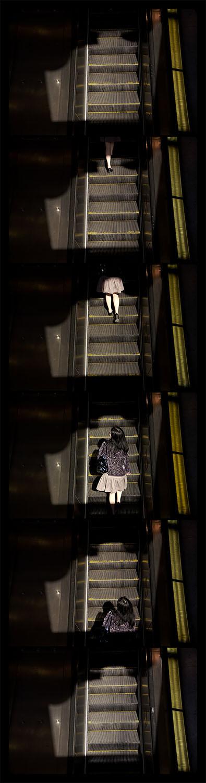 Metro Rail, Gallery Place-Chinatown, 4-21-2012, 6663-6667