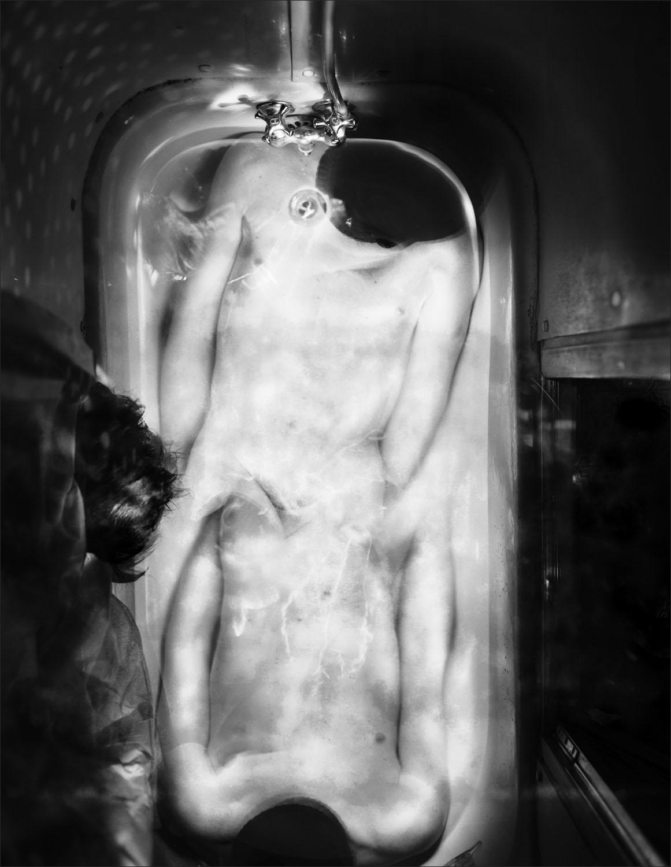 Bath Tubs ,  Self #3 , 1995
