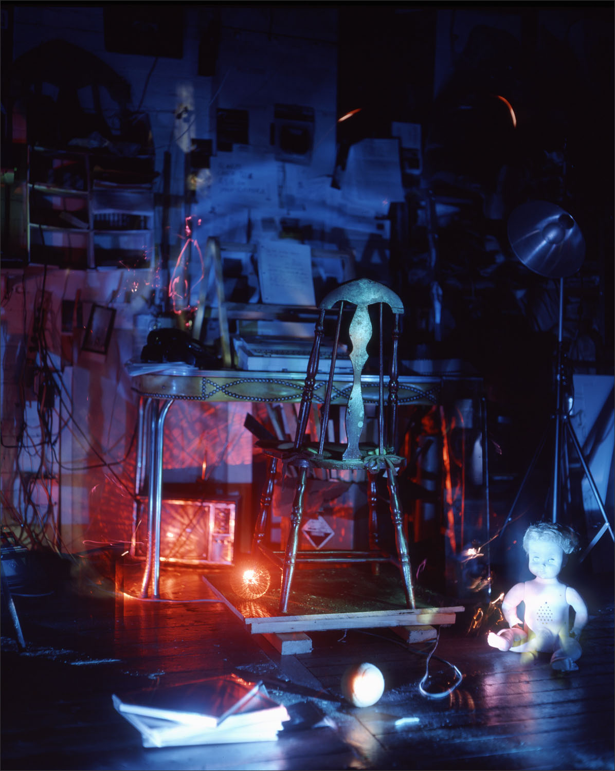Dawn's Red Chair , 1991