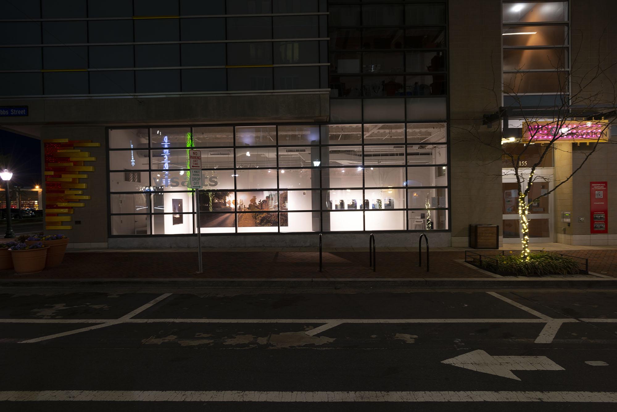TwiLight  at Visart, Rockville, Maryland, 2018  Street view