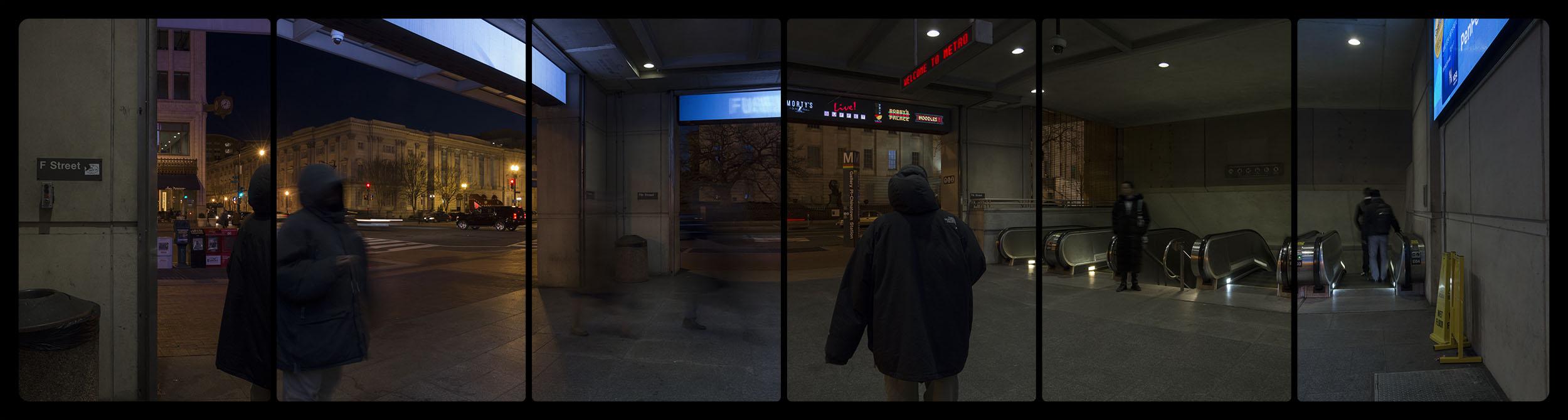Metro Rail, Gallery Place-Chinatown, 3-24-2015-5351-5361