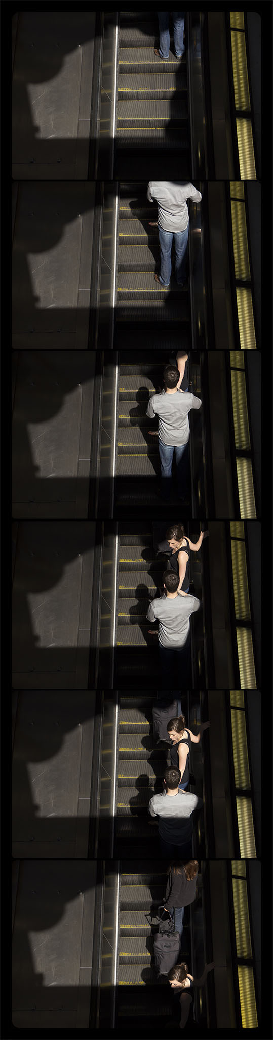Metro Rail, Gallery Place-Chinatown,  4-21-2012-6247-6256