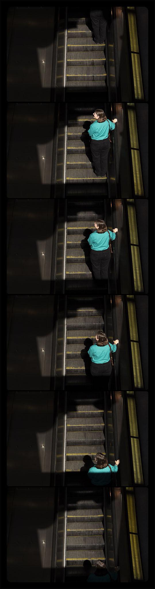 Metro Rail, Gallery Place-Chinatown, 4-21-2012-6739-6744