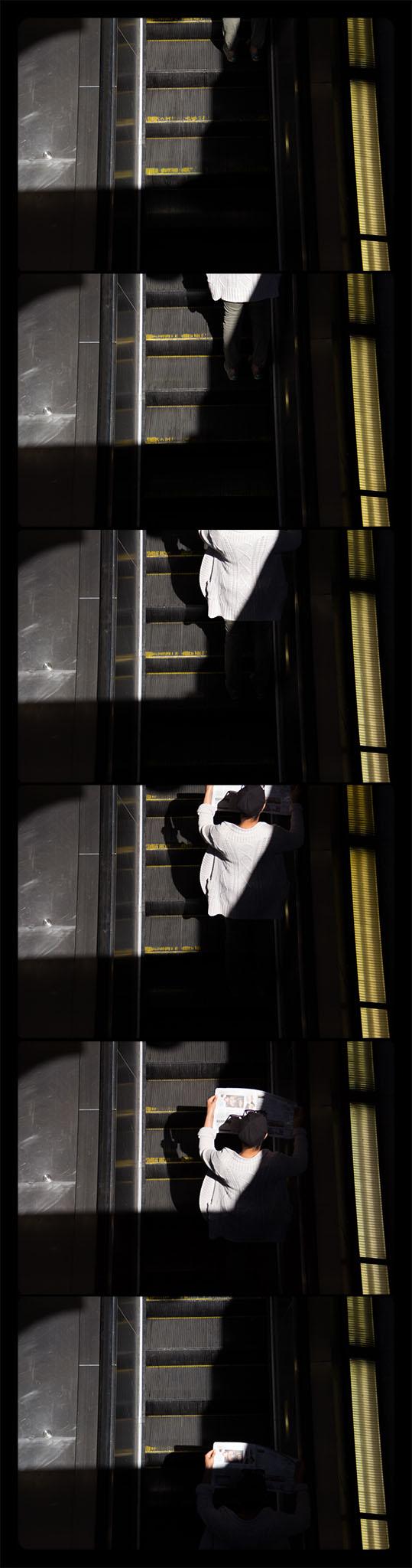 Metro Rail, Gallery Place-Chinatown, 4-21-2012-5785-5793