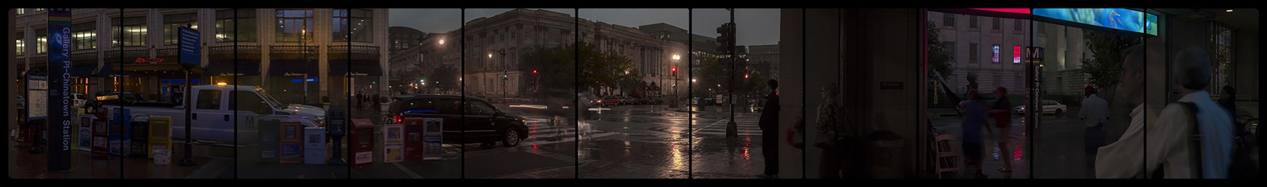Metro Rail, Gallery Place-Chinatown, 5-27-2014-0383-0393