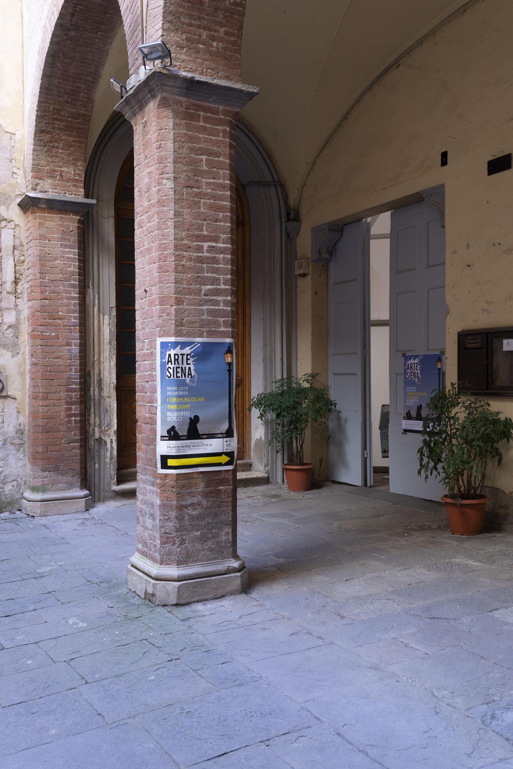 Entrance Accademia degli Intronati