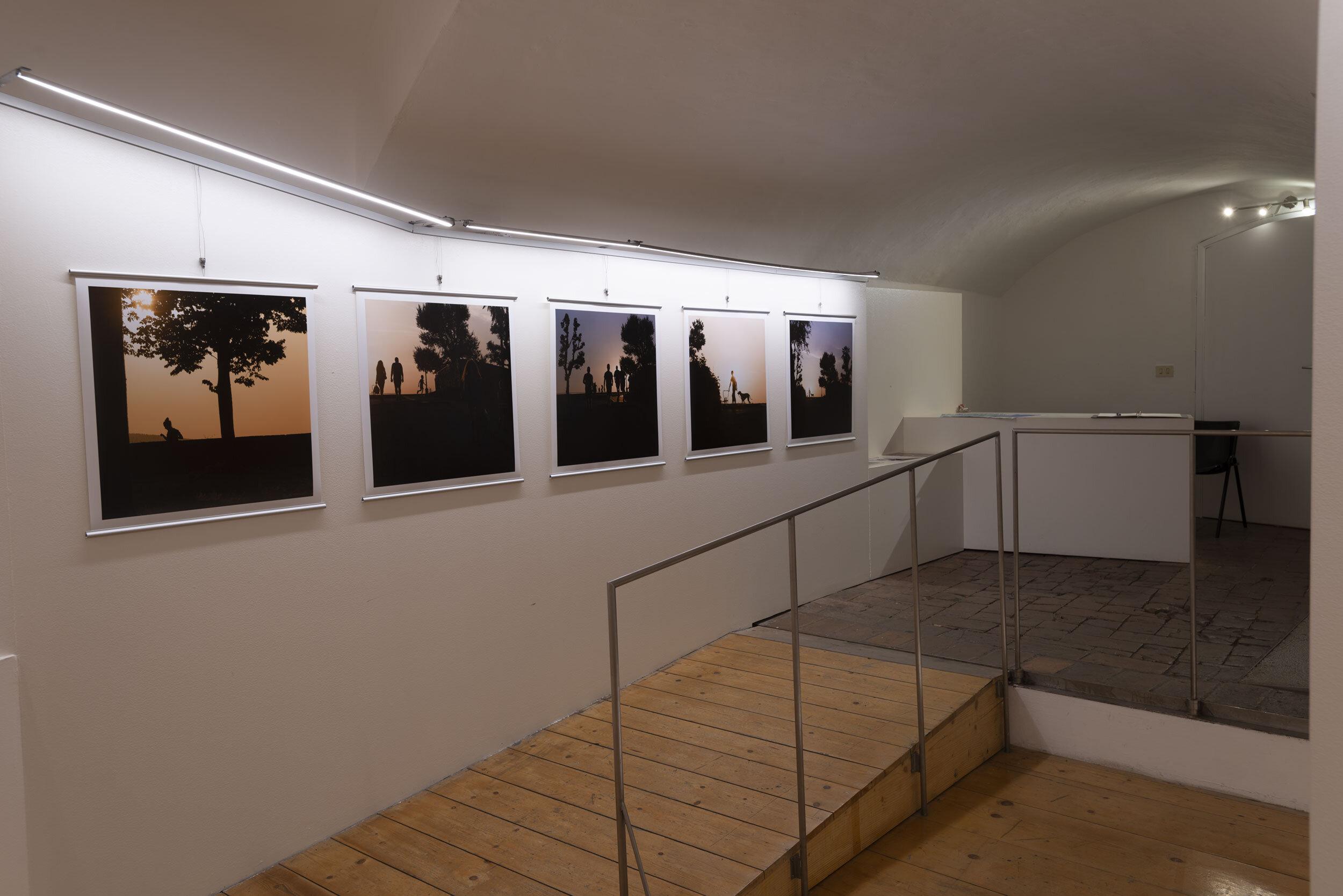 I Crepuscolari (TwiLight) exhibition at the Via di Citta` 75, 5300 Siena, Italy, Olmastroni Gallery (August 25 to September 8, 2019).