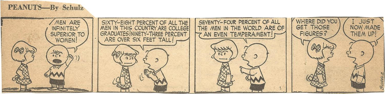 Mar. 1, 1953 (Marj), Peanuts 2