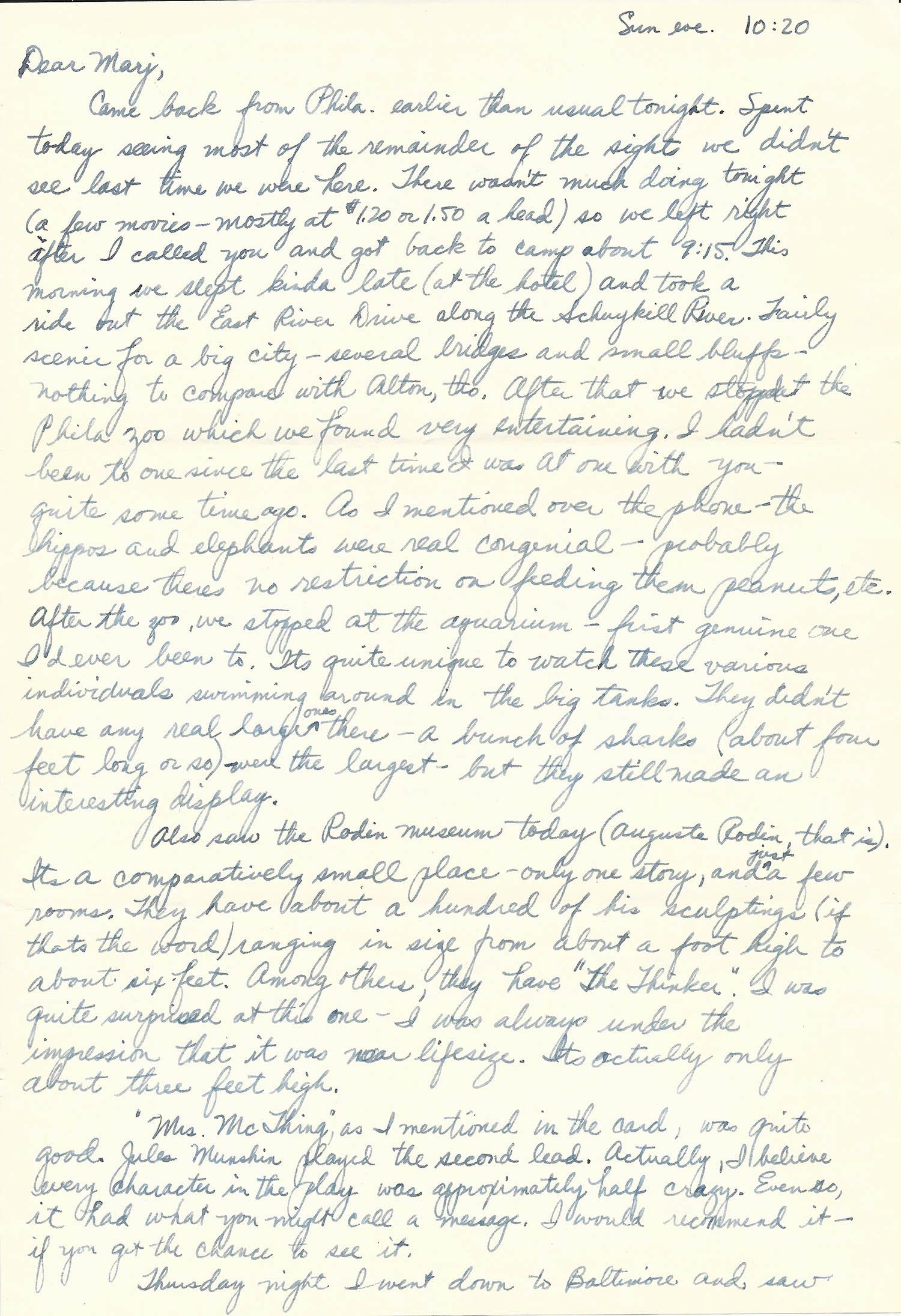 Mar. 1, 1953 (Bob) Page 1