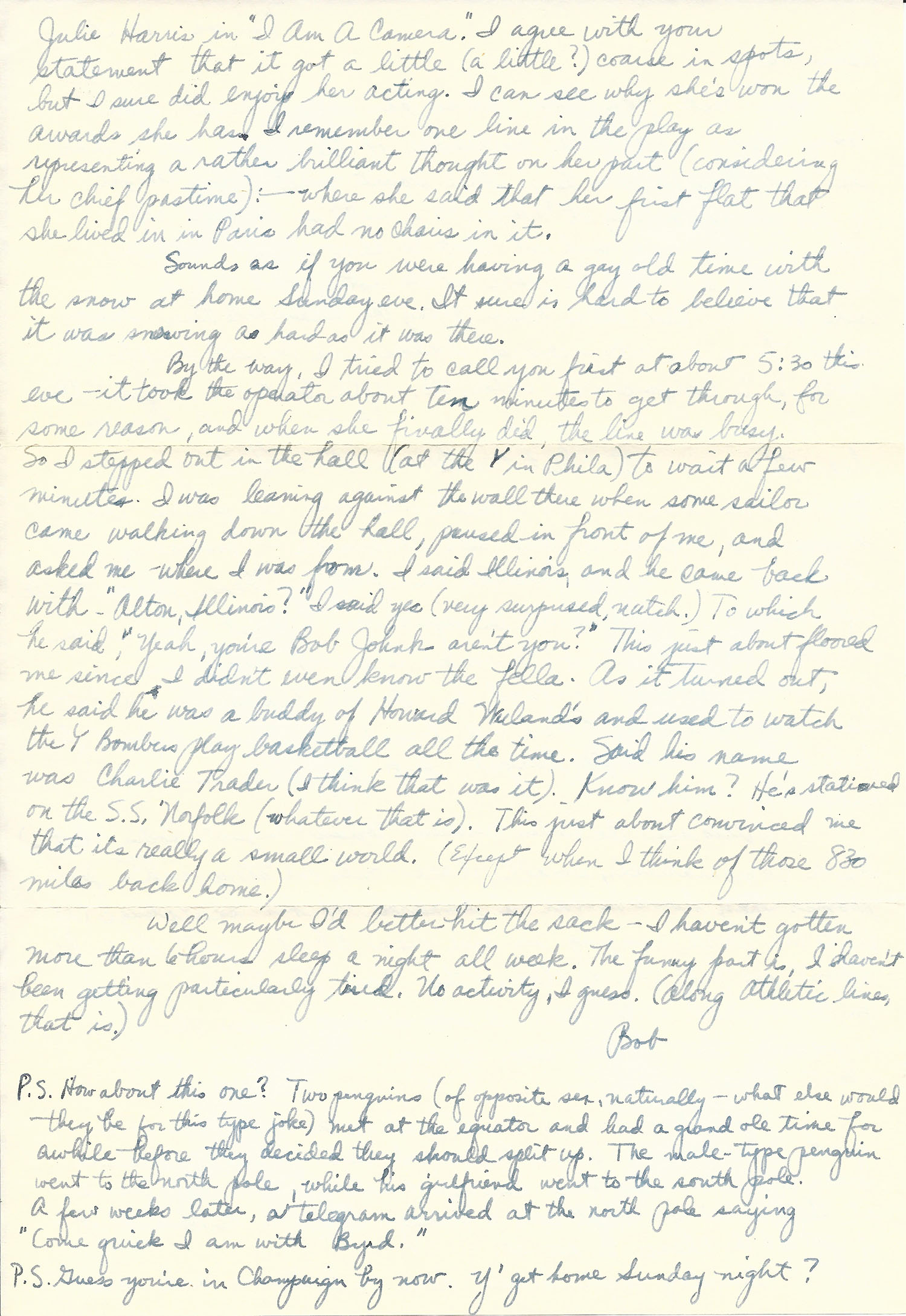 Mar. 1, 1953 (Bob) Page 2
