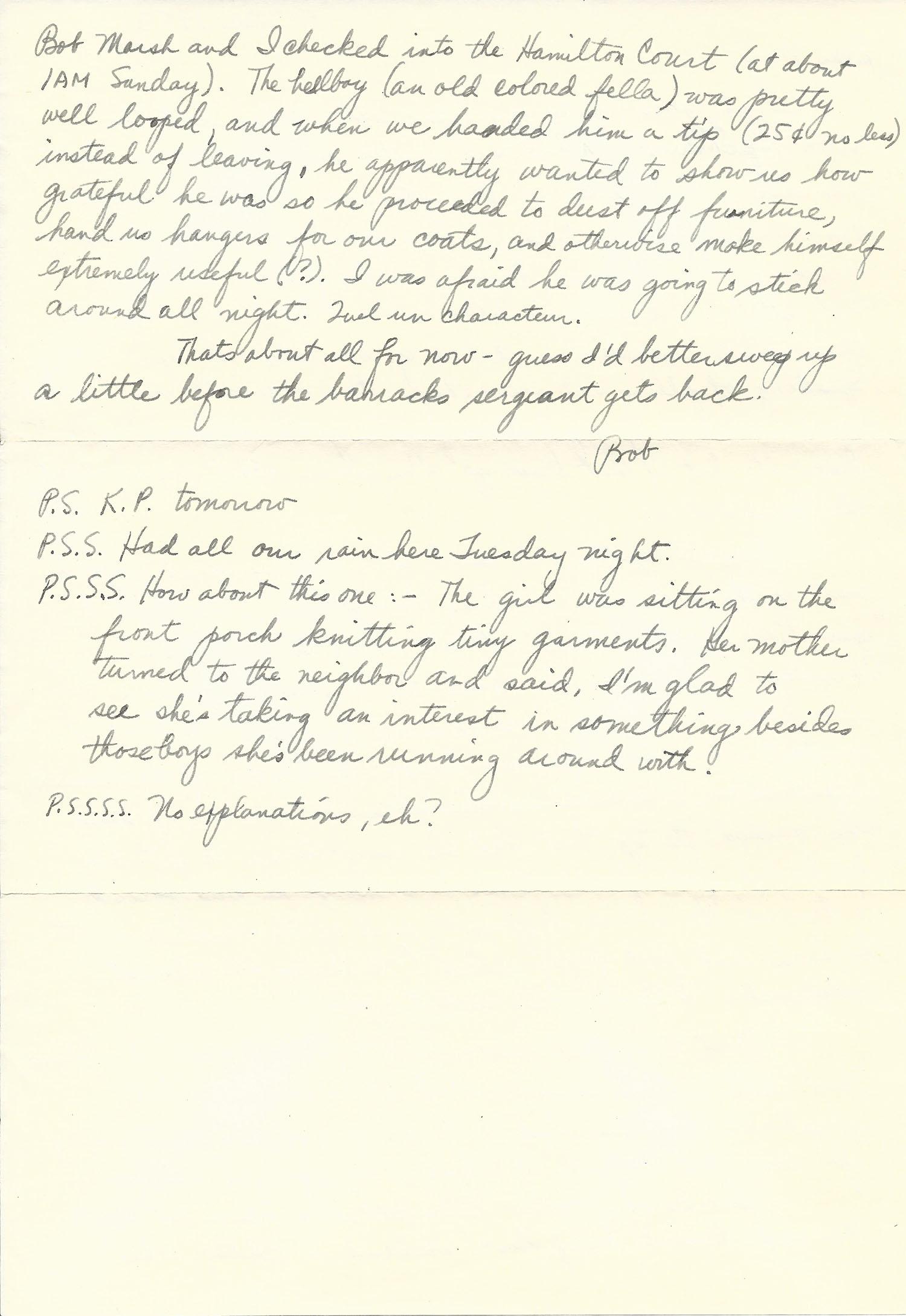 Mar. 5, 1953 (Bob) Page 2