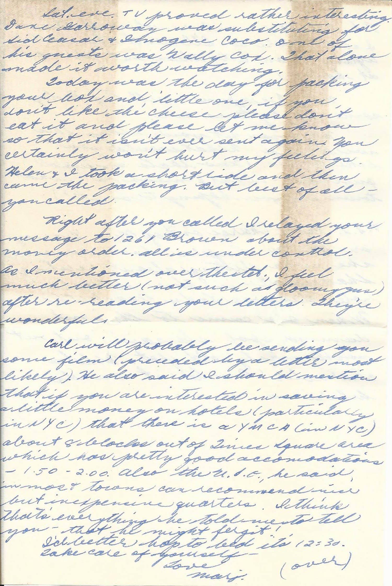 Mar. 8, 1953 (Marj) Page 2