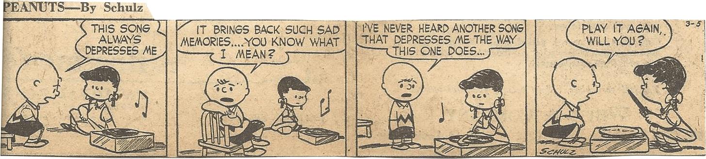 Mar. 8, 1953 (Marj) Peanuts 1