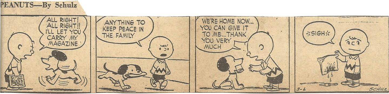 Mar. 8, 1953 (Marj) Peanuts 2