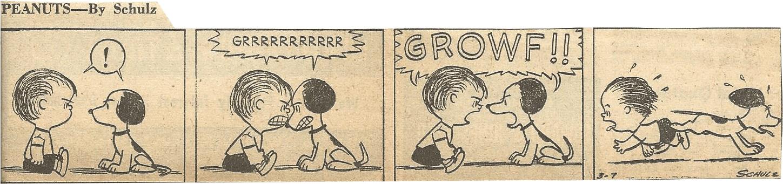 Mar. 8, 1953 (Marj) Peanuts 4