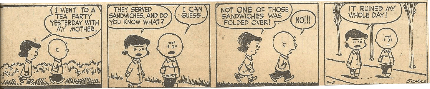 Mar. 8, 1953 (Marj) Peanuts 5