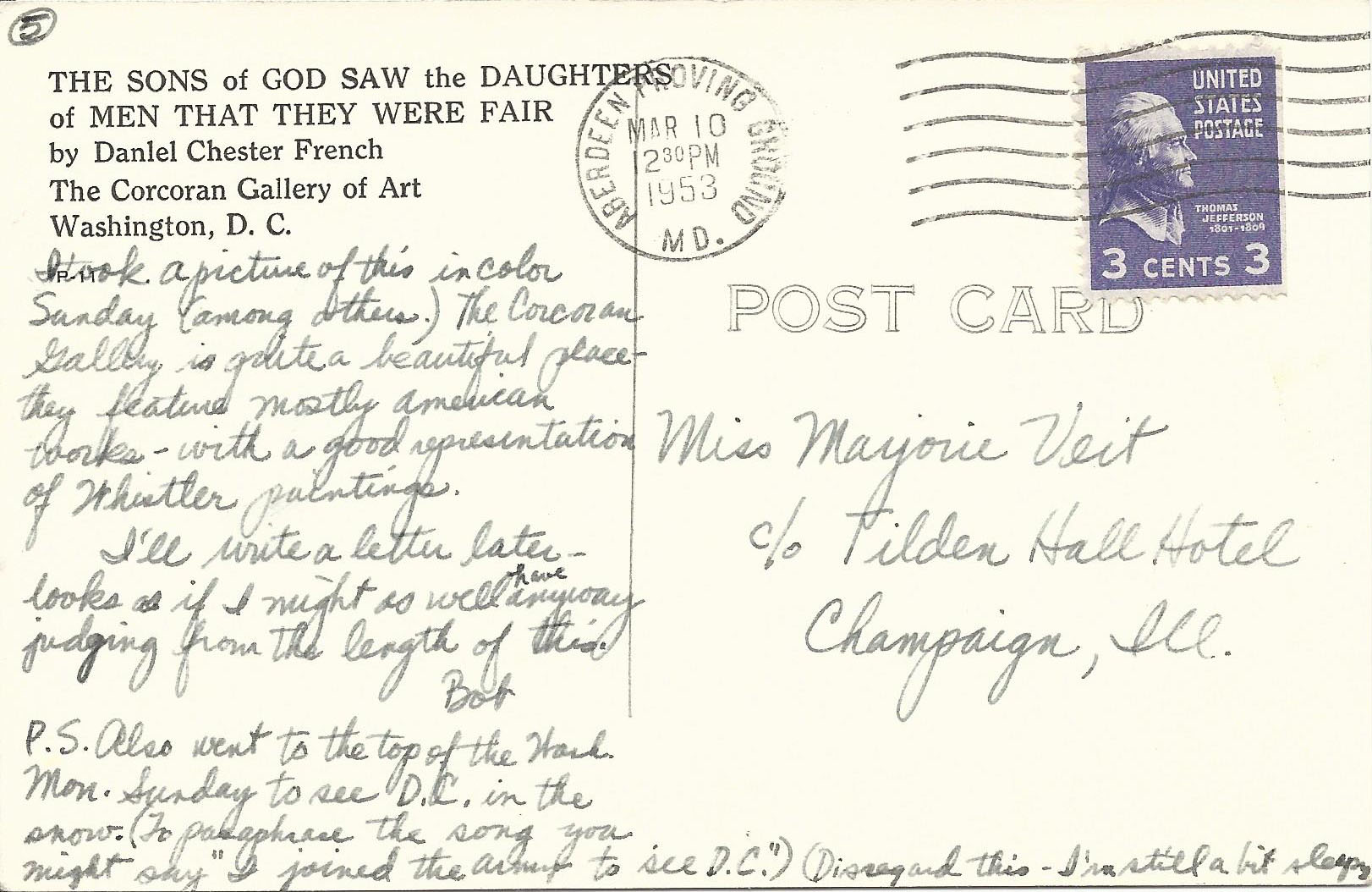 Mar. 10, 1953 (Bob) Page 5, Back