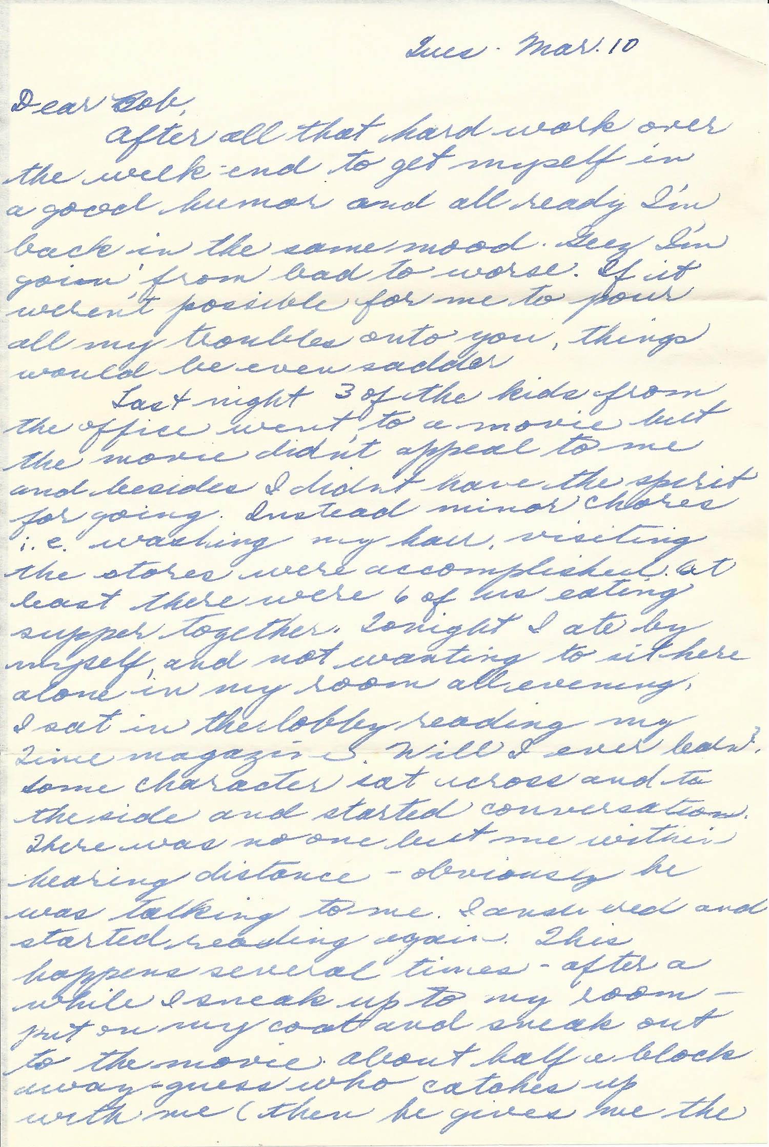 Mar. 10, 1953 (Marj) Page 1