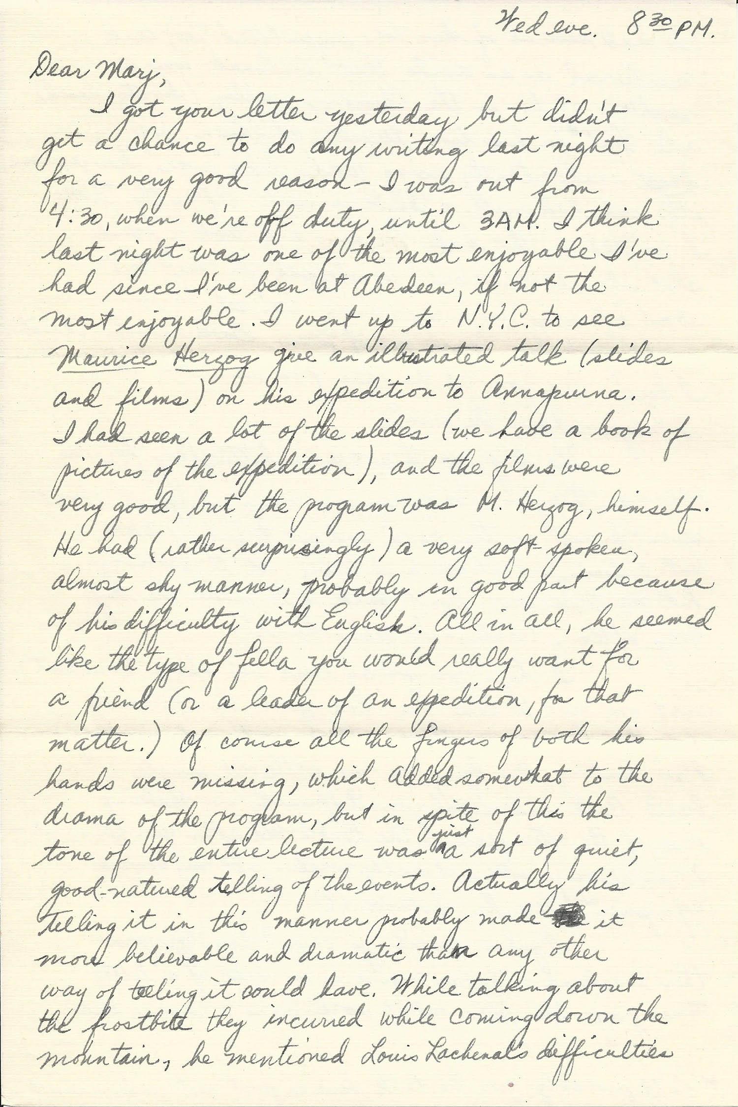 Mar. 11, 1953 (Bob) Page 1