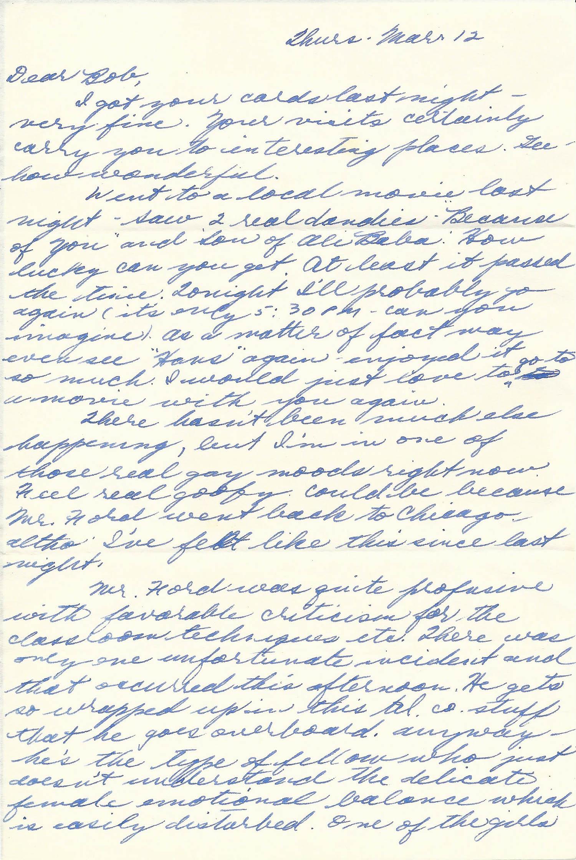 Mar. 12, 1953 (Marj) Page 1
