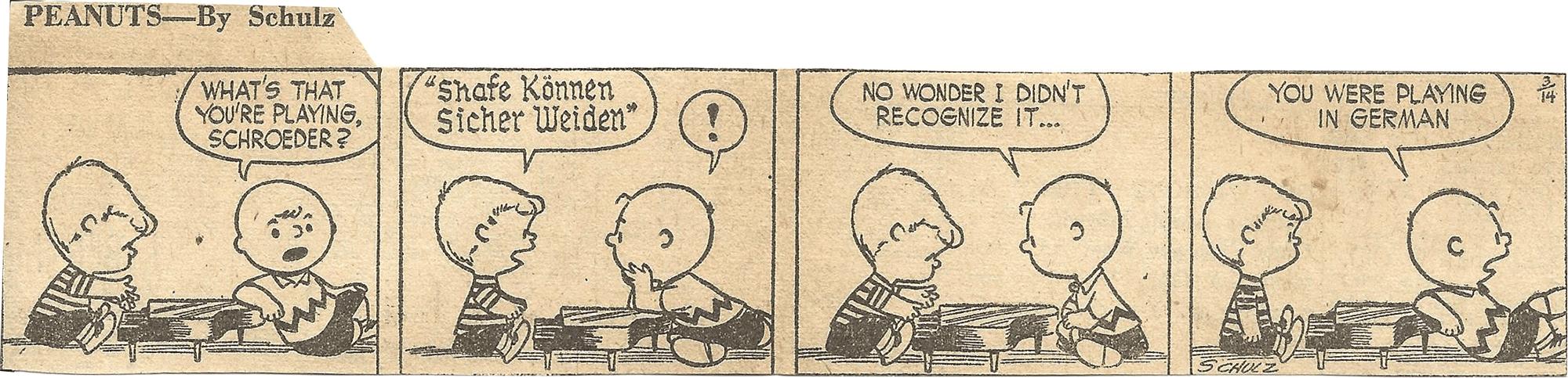 Mar. 14, 1953 (Marj) Peanuts 2