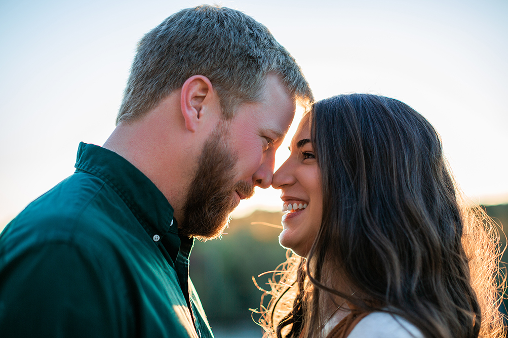 Engagement Photo Session at RiverWalk Alex + April
