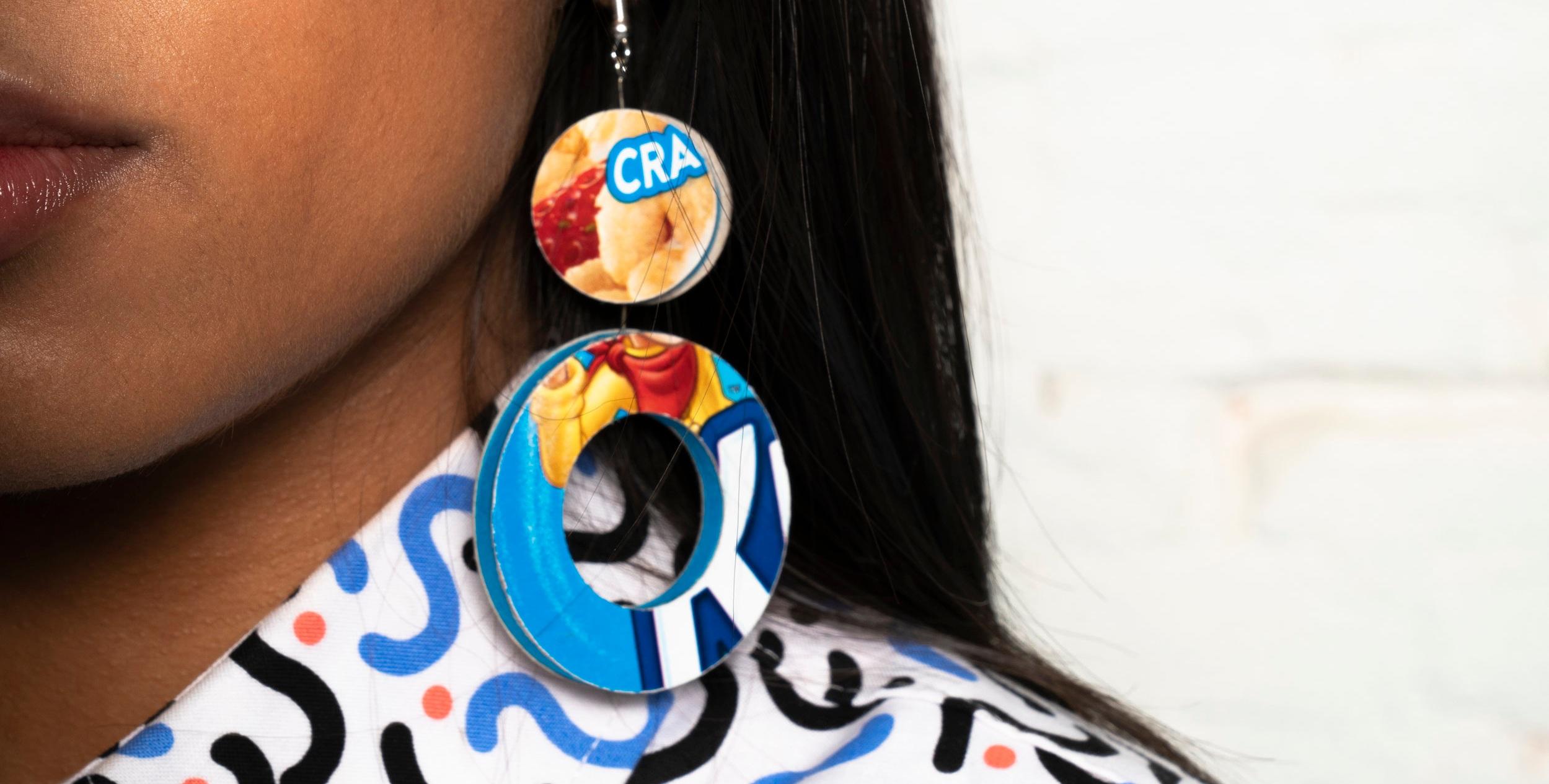SHOP EARRINGS - Preloved materials
