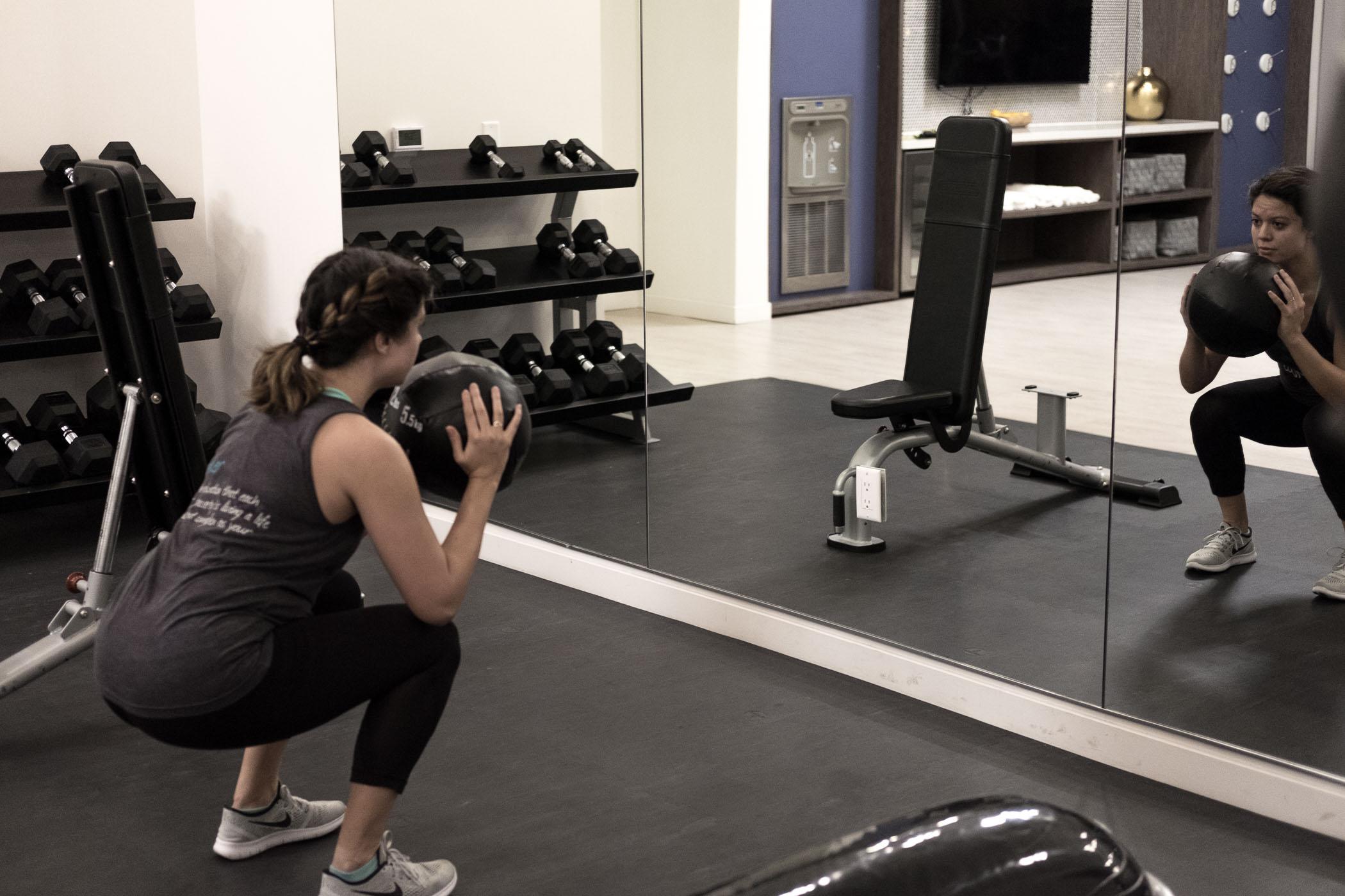 Rachel Off Duty: Rachel at the Gym