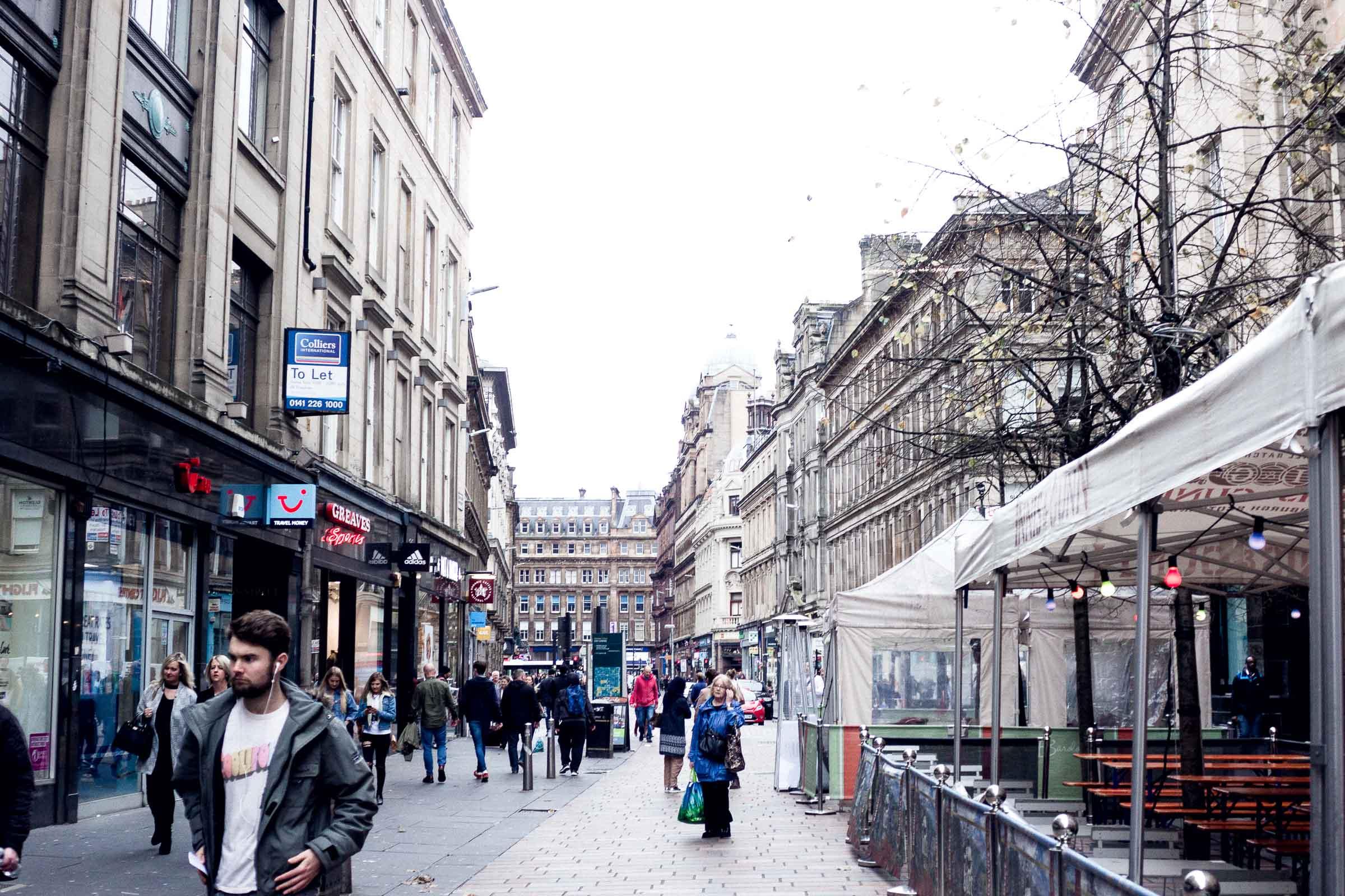 City Guide: Off Duty in Glasgow - Buchanan Street