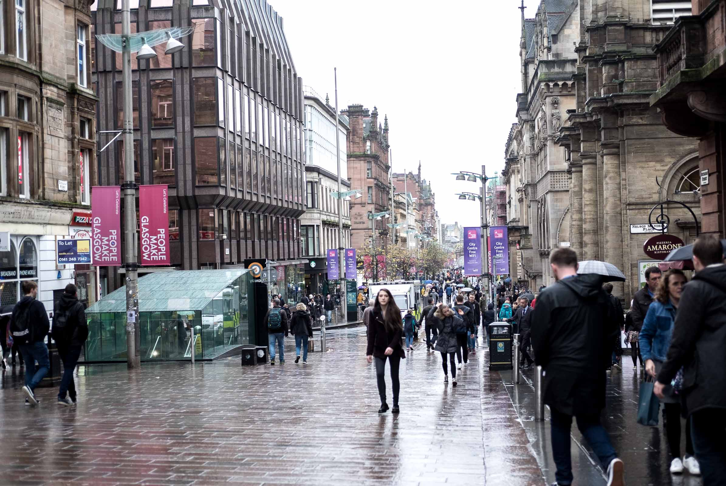 City Guide: Off Duty in Glasgow - Buchanan Street Area